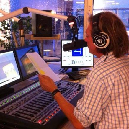 Peter de Gee bij Fresh FM